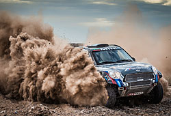 Dakar 2015 - Vladimir Vasilyev im Mini