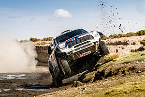 Dakar 2016 - Siebte Etappe: Nasser Al-Attiyah im All4 Mini von X-Raid