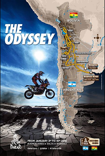 Dakar 2016: Streckenverlauf