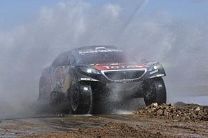 Dakar 2016 - Achte Etappe: Sébastien Loeb im Peugeot 2008 DKR verlor viel Zeit