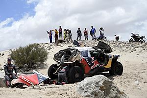Dakar 2016 - Elfte Etappe: Carlos Sainz zum Zuschauen verdammt