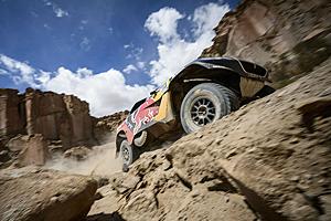 Dakar 2016 - Fünfte Etappe: Erneut Dreifachsieg für Peugeot