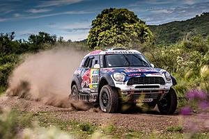 Dakar 2016 - Dritte Etappe: Nasser Al-Attiyah im Mini holt auf