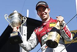 Mike Rockenfeller reichte in Zandvoort ein zweiter Platz zum DTM-Gesamtgewinn