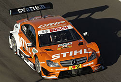Robert Wickens holt im Mercedes DTM den Sieg am Nürburgring