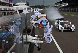 Marco Wittmann gewinnt den DTM-Lauf in Ungarn
