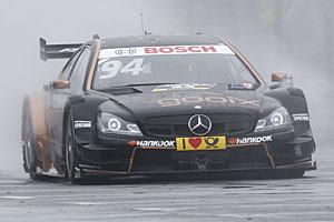 DTM Norisring - Pascal Wehrlein im Mercedes gewinnt den ersten Lauf