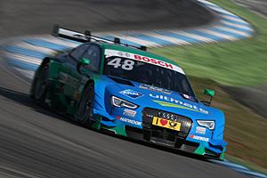 DTM Hockenheim - Edoardo Mortara im Audi gewinnt den Saisonauftakt