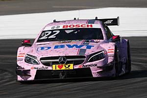 DTM Lausitzring - Lucas Auer im Mercedes gewinnt den zweiten Lauf auf dem Lausitzring