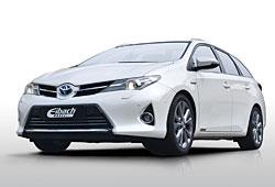 Toyota Auris Touring Sports mit Eibach-Federn und -Spurverbreiterung