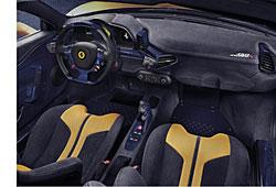 Ferrari 458 Speciale A - Innenraum