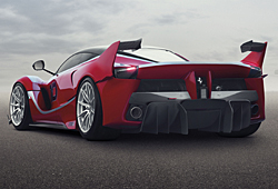Ferrari FXX K - Heckansicht