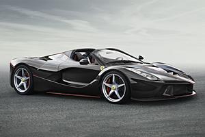 La Ferrari Cabrio - Schon bei der Kunden-Vorpremiere ausverkauft
