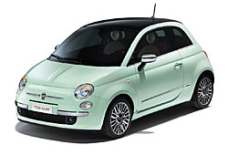 Fiat 500 Cult - Außenansicht