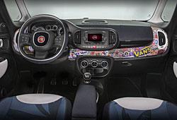 Fiat 500 L Konzeptfahrzeug - Armaturenbrett