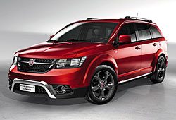 Fiat Freemont Cross - Frontansicht