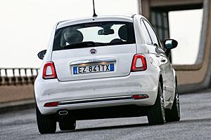 Fiat 500 - Heckansicht