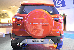 Ford EcoSport Limited Edition - Heckansicht