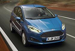 Ford Fiesta Frontansicht