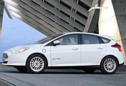 Ford Focus Electric - Seitenansicht