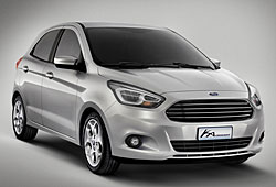 Ford Ka Concept - Frontansicht
