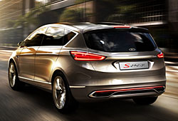 Ford S-Max Concept - Heckansicht