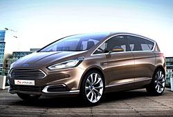 Ford S- Max Concept - seitliche Frontansicht