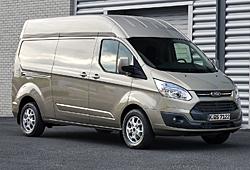 Ford Transit Custom Hochdach - Seitenansicht