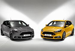 Ford Focus und Focus ST (rechts)
