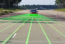 Ford Kollisions-Assistent mit Fußgänger-Erkennung für den Ford Mondeo