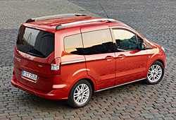 Ford Tourneo Courier - Heckansicht