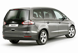 Ford Galaxy - Heckansicht