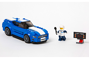 Ford Mustang-Bausatz aus Lego-Steinen