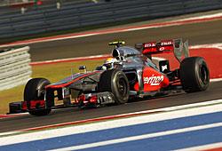 GP USA - Lewis Hamilton im McLaren auf Siegkurs in Austin/Texas
