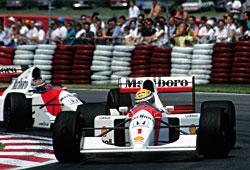 McLaren-Honda 1992 beim GP Kanada