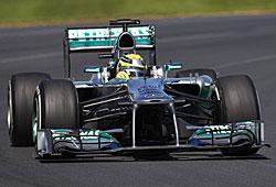 GP Australien - Pech für Nico Rosberg, der an dritter Stelle liegend mit Elektronikproblemen ausschied