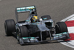 GP China - Lewis Hamilton - Mercedes GP