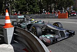GP Monaco - Nico Rosberg im freien Training am Donnerstag
