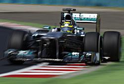 GP Ungarn - Pechvogel Nico Rosberg. Der Deutsche blieb ohne Punkte