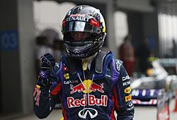 GP Indien - Sebastian Vettel ist zum vierten Mal Weltmeister
