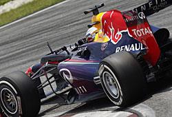 GP Malaysia - Vettel siegt nach einem harten Teamduell