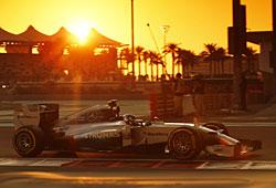 GP Abu Dhabi - Nico Rosberg als Pechvogel - die Technik stoppte den Deutschen