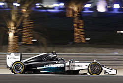 GP Bahrain - Nico Rosberg (Mercedes)