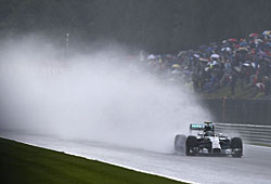 GP Belgien - Nico Rosberg holt in Spa-Francorchamps die Pole-Position