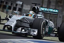 GP Brasilien - Lewis Hamilton verpasste Sieg in Brasilien