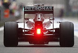 GP China - Mercedes GP zeigt der Konkurrenz die Rücklichter
