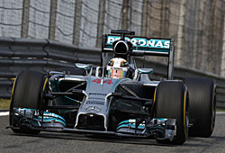 GP China - Lewis Hamilton siegt in China