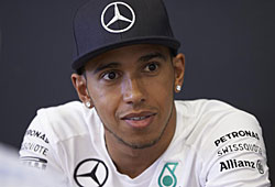 GP Deutschland - Lewis Hamilton schied wegen eines Bremsendefekts in Q1 aus