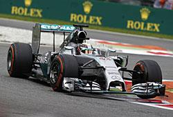 GP Italien - Lewis Hamilton steht in Monza auf Startplatz eins