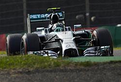 GP Japan - Nico Rosberg auf Startplatz eins